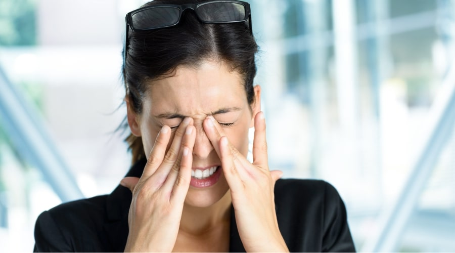 Глазная мигрень